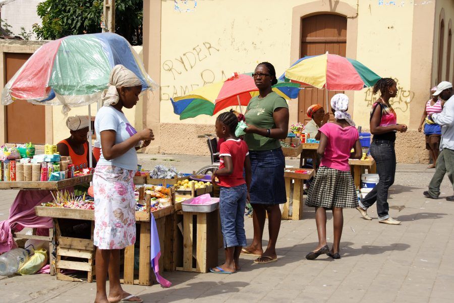 Market at Assomada on Santiago (c) Richard Webber