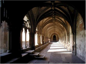 cloisters Norwich cathedral