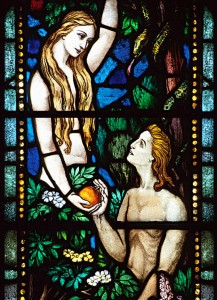Adam & Eve in the garden of eden