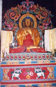 Statue of the Buddha in Nepal